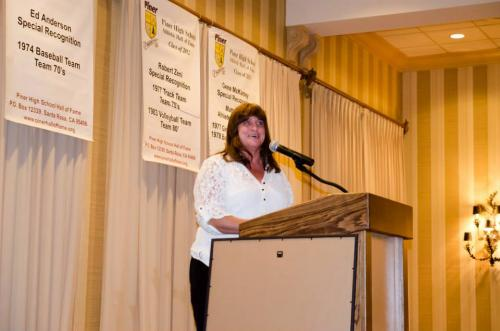 Shannan Weese Sweeney  induction 2014